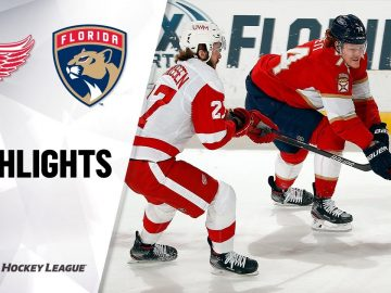 Red Wings @ Panthers 3/30/21   NHL Highlights