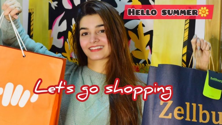 Summer Shopping | Say Hello to summers | Lawn season | Sales going on | Shopping Haul 1