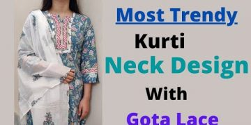 Latest Kurti Front Neck Design only in 5️⃣ minutes Easy way 2