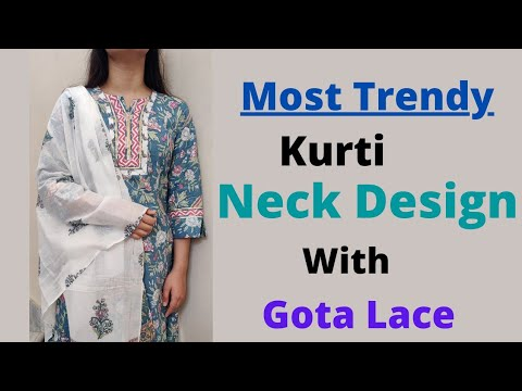 Latest Kurti Front Neck Design only in 5️⃣ minutes Easy way 1