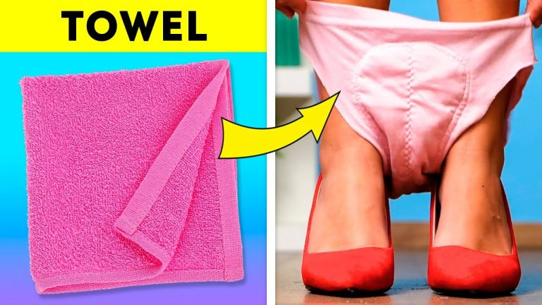 CLEVER GIRLY HACKS FOR ANY OCCASION