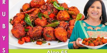 ALOO 65! Crispy Potato Kofta Recipe in Urdu Hindi - RKK