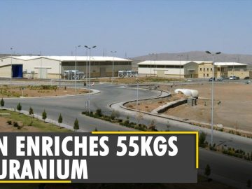 Iran produced 55kg of 20% enriched Uranium since January | Nuclear deal | Latest English News