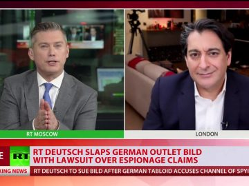 RT Deutsch slaps German outlet 'Bild' with lawsuit over SPYING claims