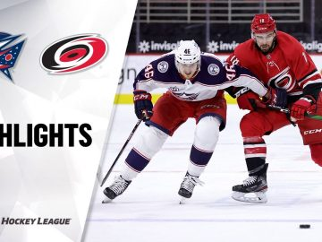Blue Jackets @ Hurricanes 3/20/21 | NHL Highlights