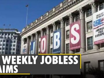 World Business Watch: United States weekly jobless claims drop to one-year low | English News | WION
