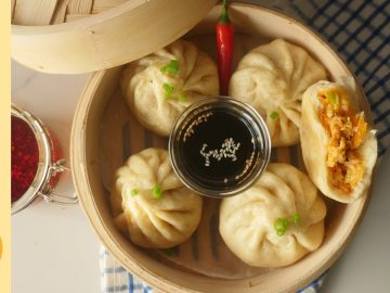 Stuffed Bao Buns Recipe by Food Fusion (Non Fried Iftar Idea)