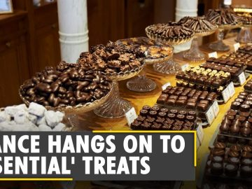 Paris: Chocolate shops open during France's lockdown | Latest World English News | WION News