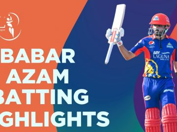 Babar Azam Batting Highlights | Karachi Kings vs Multan Sultans | Match 9 | HBL PSL 6 | MG2T