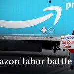 The battle for Amazon's first warehouse union | DW News