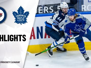 Jets @ Maple Leafs 3/9/21 | NHL Highlights