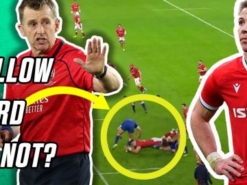 Nigel Owens reacts to France v Wales big refereeing decisions | Whistle Watch