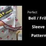 Perfect Bell / Umbrella Cut / Frill Sleeve Easy Cutting and Stitching@RR Fashion Point 3