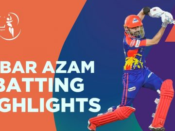 Babar Azam Batting Highlights | Karachi Kings vs Islamabad United | Match 6 | HBL PSL 6 | MG2T