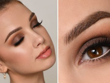 NIGHT OUT / PARTY Makeup Tutorial | Brown Smokey Eye