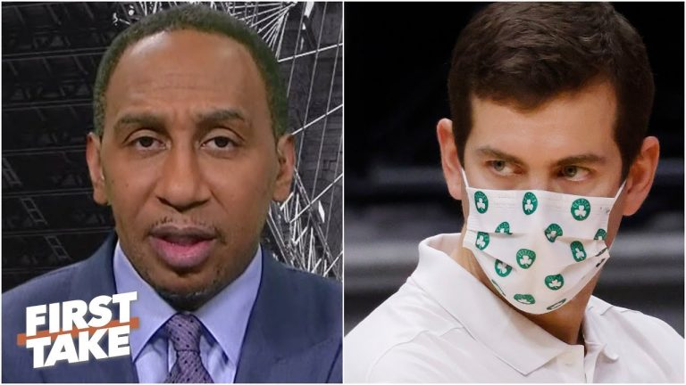 Stephen A. reacts to the Celtics blowing a 24-point lead to the Pelicans, calls out Brad Stevens