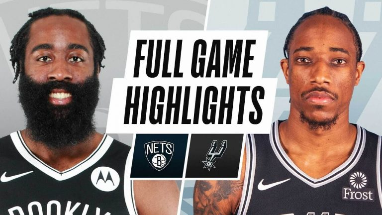NETS at SPURS   FULL GAME HIGHLIGHTS   March 1, 2021