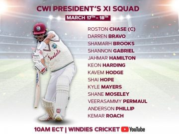 🔴 LIVE | West Indies President's XI vs Sri Lanka | Day 2 19