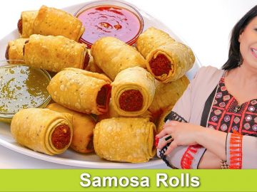 Aloo Samosa Roll Up Iftari Ramadan Special 2021 Recipe in Urdu Hindi - RKK