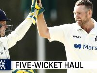 Holland peach highlights Shield five-wicket haul | Marsh Sheffield Shield 2020-21