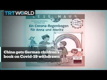 Why has a children's book on Covid-19 angered Chinese diplomats in Germany?