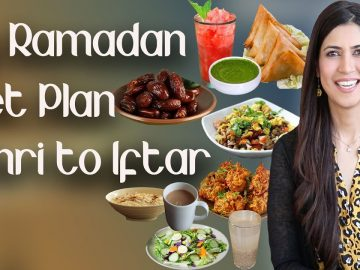 Ramadan Weight Loss Diet Plan / How to Lose Weight in Ramazan - Ghazal Siddique