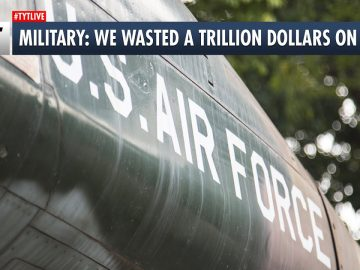 U.S. Military Admits Trillion Dollar Mistake