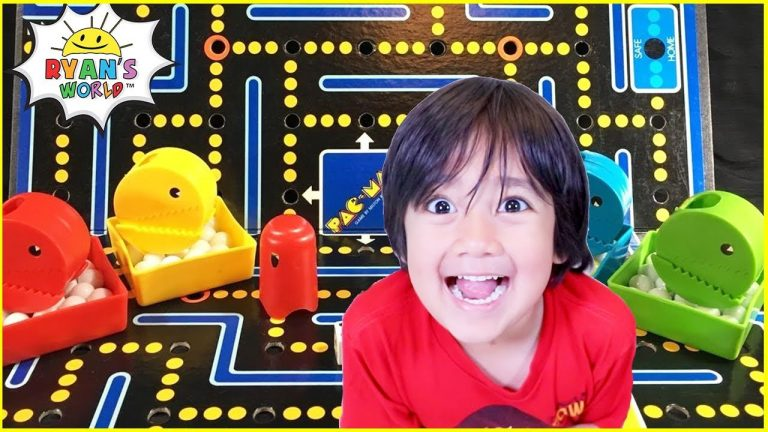 Pac Man Board Game with Ryan's World!!! 1