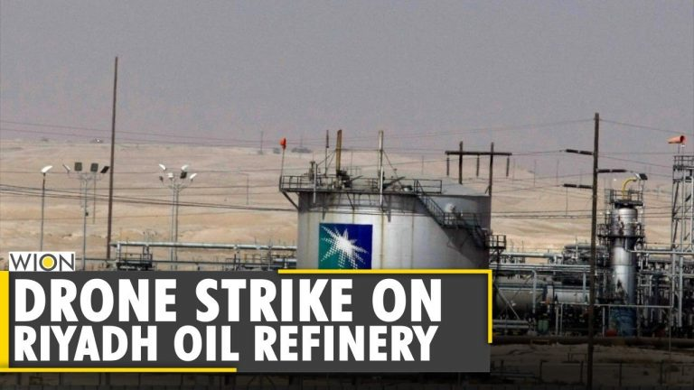 Drone strike launched by Houthis Rebels on Riyadh oil refinery   World News   WION
