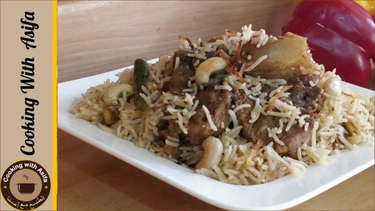 Yakhni pulao recipe by cooking with Asifa