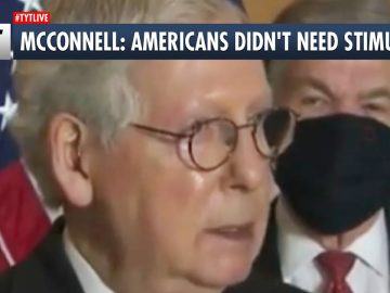 Mitch McConnell: Americans Didn't Need Stimulus