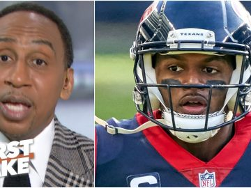Stephen A. explains why Deshaun Watson should be worried about the Texans' next moves | First Take