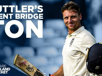 Buttler's Trent Bridge Ton! | First EVER Test 100! | England v India 3rd Test 2018