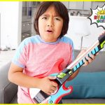 Ryan plays with DIY instruments Guitar Drums and more! 3