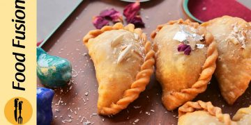 Make & Freeze Creamy Coconut Samosa Recipe By Food Fusion (Ramzan Special)