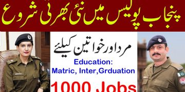 New Punjab police jobs 2021, Punjab Prisons police department jobs