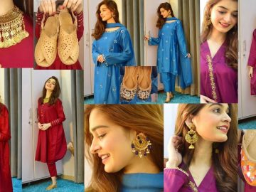 Styling Plain Outfits || Jewellery + Shoes || DESI LOOKS 5