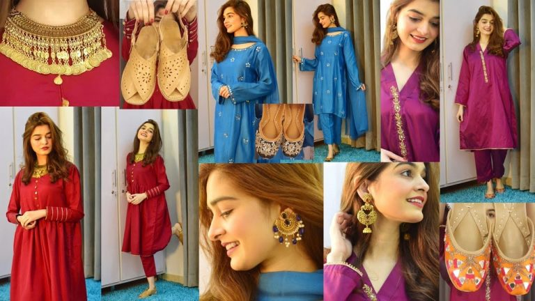 Styling Plain Outfits    Jewellery + Shoes    DESI LOOKS 1