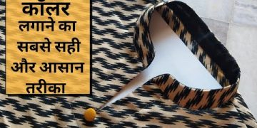 कॉलर लगाने का सही तरीका /How To Make Collar Neck for Beginners/NECK DESIGN /Step by Step 2