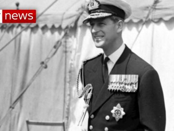 Prince Philip: A look back at his distinguished Royal Navy career