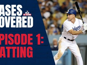 Batting with Eddie Hall & Chase Utley | MLB Bases Covered: Episode 1
