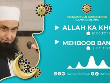 ALLAH KA KHOF | Molana Tariq Jamil | Audio Series | 18 Apr 2021