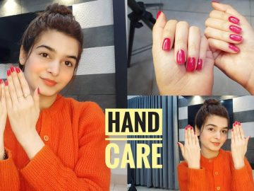 HAND CARE || Get Silky Smooth Hands || How I Take Care Of My Hands??? 7