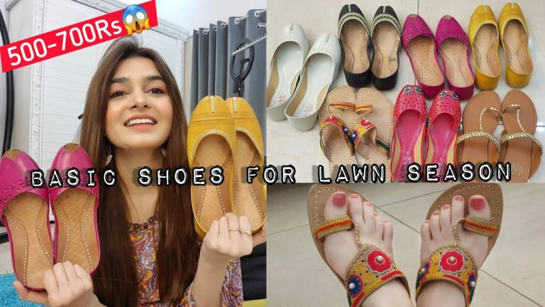 Basic Shoes For Lawn Season || Affordable Rates 1