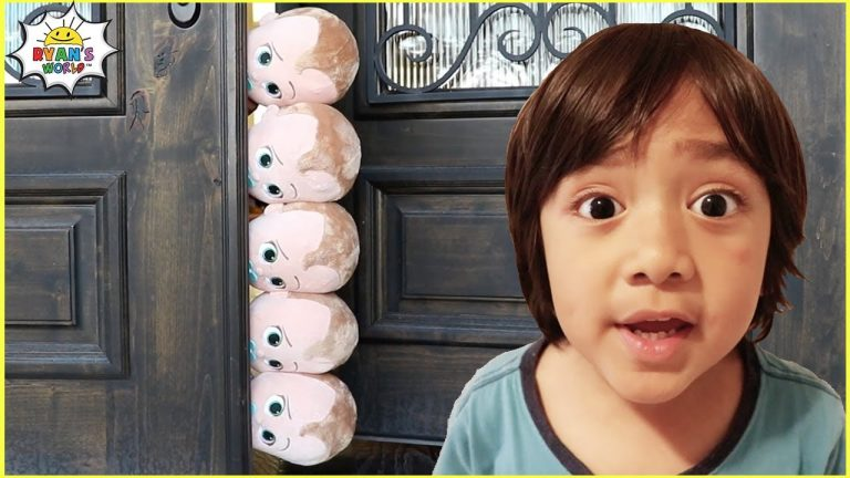 Ryan and the babysitting Story with Mommy and 1 hr Pretend Play for Kids! 1