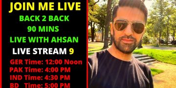 Live with Ahsan Hayat | Episode 9 | Life in Germany