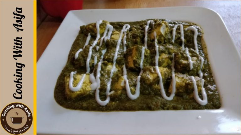 Traditional Palak Paneer Recipe by Cooking with Asifa