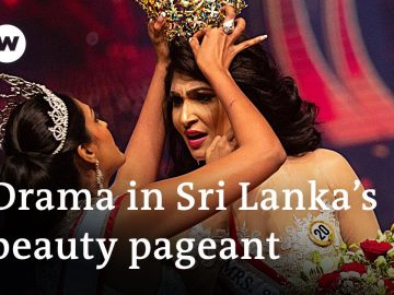 Mrs Sri Lanka's crown snatched off head due to false allegations   DW News