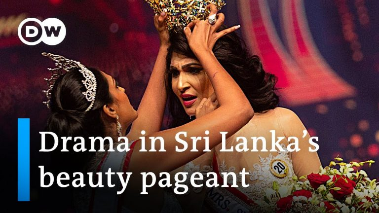 Mrs Sri Lanka's crown snatched off head due to false allegations | DW News