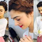 Cute Bun Hairstyle To Do With a Skirt || Low Bun 1